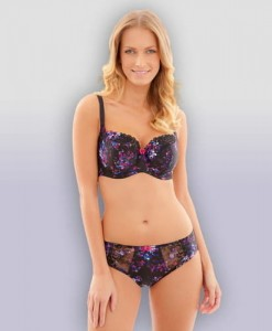 Majtki Panache Thea Brief Black Multi