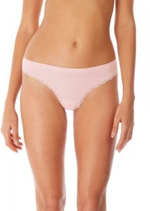 Stringi b'tempt'd Innocence Rose Smoke Thong